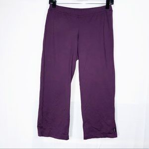 Prana Plum Workout Pants Leggings Size Small